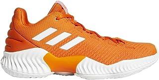 adidas 阿迪达斯男式专业弹跳 2018低篮球橙色/白色/橙色