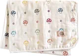 Hoppetta 蘑菇花紋 蓬松紗布(6層紗布)媽媽和爸爸被單 5280