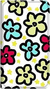 智能手机壳 手册式 对应全部机型 薄型印刷手册 cw-008top 套 手册 花纹 超薄 轻量 UV印刷 壳WN-PR169531-MX Galaxy S5 SC-04F 图案G