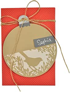 Sizzix 节日鸟 Sophie Guilar Thinlits 模具,碳钢,多色,3 件装