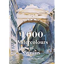 1000 Watercolours of Genius (Book) (English Edition)