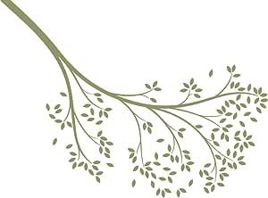 LittleLion Studio 142001010000000000000000 到达分支墙贴 橄榄绿 142016493000000000000000