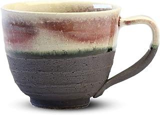 CtoC JAPAN Select 信乐烧 马克杯 W904-06 宽 约 9.5cm x 高 7.5cm 树莓马克杯 时尚 陶器 4510542396975