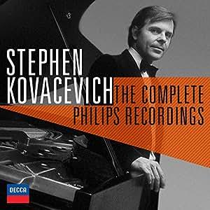 进口CD:柯瓦谢维奇完整飞利浦录音限量版 Stephen Kovacevich/The Complete Philips Recordings Limited Edition(25CD)4788662