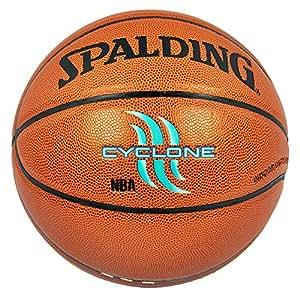 SPALDING 斯伯丁 74-414 CYCLONE 涂鸦系列 篮球 PU材质 橘色