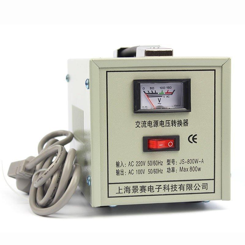 景赛变压器 交流电压转换器 js-800wa 220v转100v 800