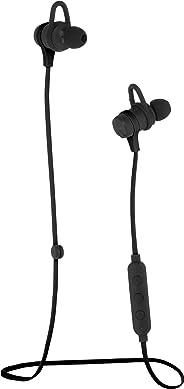 AmazonBasics 无线蓝牙健身耳机带麦克风,黑色