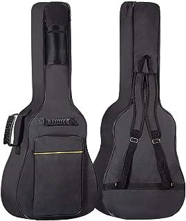 GLEAM 吉他琴包 - 0.3 英寸海绵衬垫适合 41 英寸原声防水