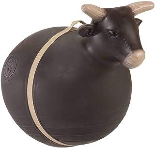 Big Country Toys 弹跳公牛 - 儿童跳玩具 - 公牛骑行和竞技玩具 - 带手柄的充气球 - *设计