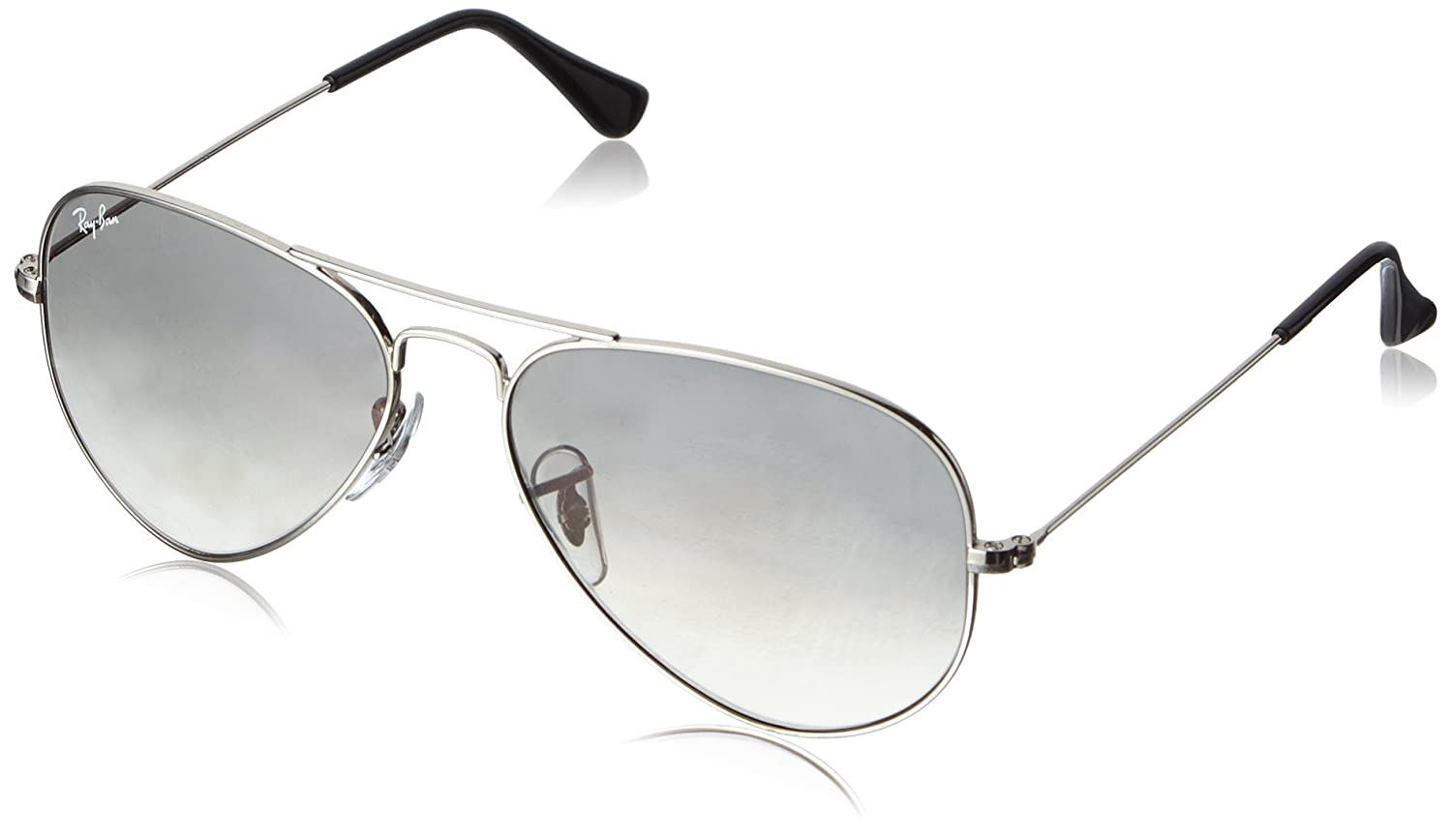 aviator ray ban rb3025  Ray-Ban Aviator RB3025 Large Metal Aviator Sunglasses 閾惰壊55姣背 ...