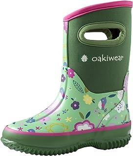 Oakiwear 儿童氯丁橡胶雨靴,雪地靴,Muck 雨靴