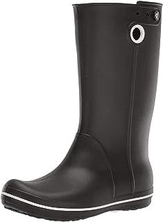 Crocs 卡骆驰女鞋 Crocband Jaunt 卡洛班系列雨靴(*蓝 410) Black (Black) 7 UK Crocband Jaunt Womens