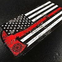 Lone Star Signs 美国消防员红斧 - 贴纸