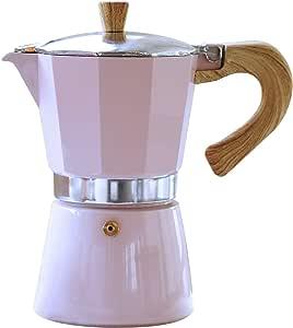 Gnali & Zani VEZ003/IND - Esspressokocher, 杯数 浓缩咖啡机 粉色 3 Tassen VEZ003/IND/PINK