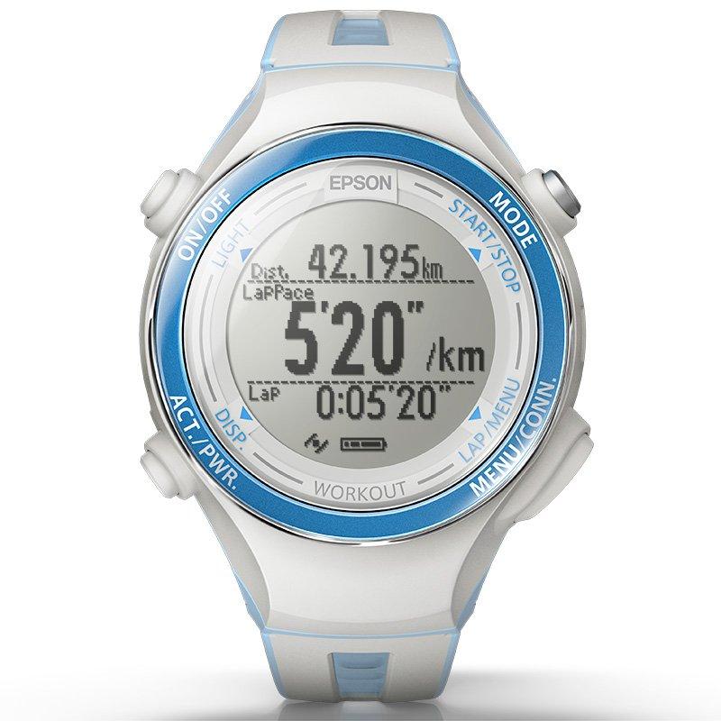 EPSON 爱普生 RUNSENSE GPS SF-720 专业GPS 运动腕表