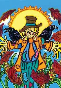 托兰 家居花园小狗 31.75 x 45.72 cm 装饰彩色秋季玉米田径类鸟花园旗帜