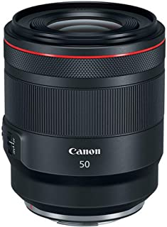 Canon 佳能 RF 50mm f/1.2L USM(77毫米过滤螺纹)黑色
