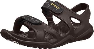 crocs 男式 swiftwater RIVER M 渔夫儿童拖鞋