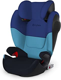 CYBEX Silver Solution M-Fix SL 儿童汽车座椅 蓝色(Blue Moon)