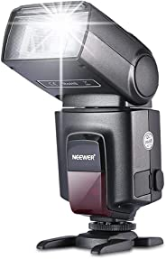 Neewer TT560 机顶闪光灯 适用于佳能、尼康、宾得、奥林巴斯、索尼、莱卡、富士等单反相机和带单触点热靴的相机