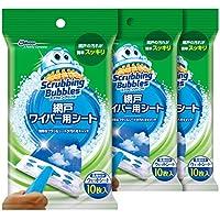 Scrubbing Bubbles 纱窗清扫刷 清洁门纱湿纸巾 30片