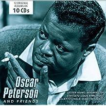 进口CD:奥斯卡·彼得森与朋友 Oscar Peterson/Friends (jazz)(10CD)600173