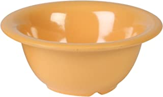 Global Goodwill 12-Piece 10-Ounce Soup Bowl, 5-1/2-Inch, Yellow
