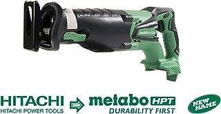 METABO HPT CR18DGLP4 18V 锂离子18 伏无线往复锯,仅工具(无电池或充电器)