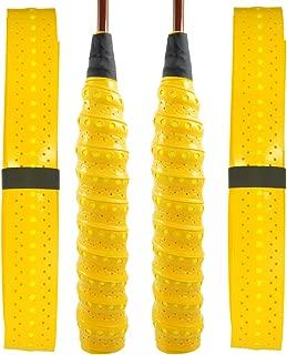 质量 Yes QY 2 件装 加宽穿孔 *吸收网球拍 防滑羽毛球拍 胶带包装 乒乓球拍带