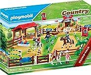 Playmobil 摩比世界 大型马术比赛 磁力拼插玩具