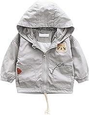 ContiKids 女婴男婴中性款婴儿拉链连帽夹克风衣外套