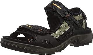 Ecco 爱步男式夏季透气皮凉鞋Yucatan-M 潮鞋厚底沙滩鞋越野鞋
