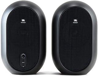 JBL Professional 1系列 104紧凑型台式显示器(成对出售),黑色(JBL104)