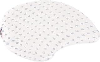 Little Chick London 多用途孕妇支撑星光枕头,白色/灰色