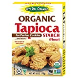 Let's Do.Organic Organic Tapioca Starch, 6-Ounce Boxes (Pack of 6)