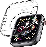 Spigen 液体水晶 专为 Apple Watch Case 44mm Series 4 (2018) 设计 - 水晶透明