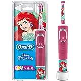 Oral-B 欧乐B 儿童电动牙刷 迪士尼 小美人鱼图案,带贴纸,适合3岁以上儿童