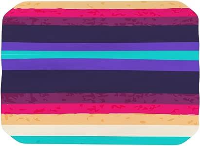 "Kess InHouse Nika Martinez""冲浪条纹""餐垫,18 x 13 英寸"