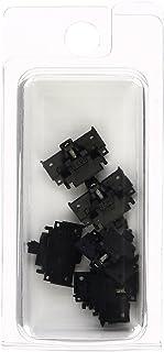 TOMYTEC TOMIX N轨距 密连形 TN耦合器 6个 SP 黑色 0336 铁道模型用品