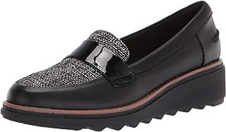 其乐 Clarks Womens Sharon Gracie Closed Toe Loafers US