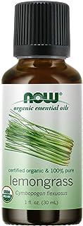 NOW Foods - 100 % Pure &有机精油柠檬香茅 - 1 fl。 盎司.