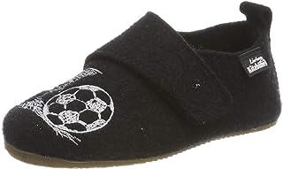 Living Kitzbühel 男孩魔术贴足球鞋低帮拖鞋