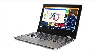 联想 Flex 11 二合一可转换笔记本电脑,11.6 英寸高清触摸屏显示屏,Intel Pentium 银色 N5000,*高可达 2.7GHz,4GB DDR4,64GB eMMC,蓝牙,Windows 10 in S 模式,1 年 Office 365 个人,黑色