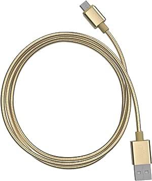 TAMO 防碎玻璃屏幕保护膜,采用 Nano-Slim 技术,iPhone 4/4s.5TA-STMUSB-3D Micro USB Cable 3 英尺 金色