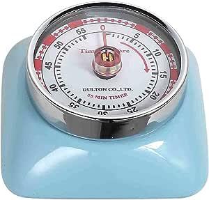 磁性 55 分钟厨房计时器方形 浅蓝色 113-304