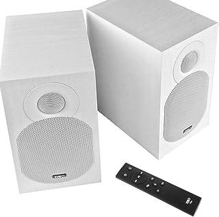 TIBO Plus 3.1 | 高保真主动蓝牙音箱带遥控器 | RCA/光纤输入 | 2 x 55W | 白色