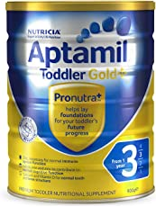 Aptamil 新西兰爱他美 金装 婴儿奶粉 3段 一岁以上 900g 包邮包税【跨境自营】