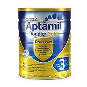 新西兰Aptamil爱他美金装婴儿奶粉3段900g*3件