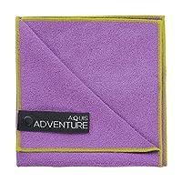 AQUIS 冒险超细纤维毛巾,(29x 30.48cm )
