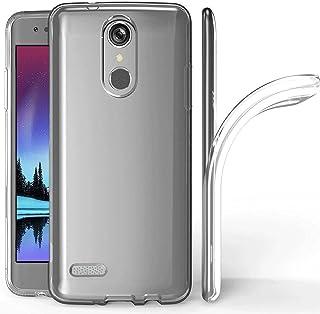 LG K10 2018 手机壳,LG K30 手机壳,LG Premier Pro/LG K10 Alpha 手机壳,Skmy 柔软 TPU 手机壳水晶透明纤薄防滑手机壳后保护壳 LG K10 2018/LG K30LG K10 2018 透明